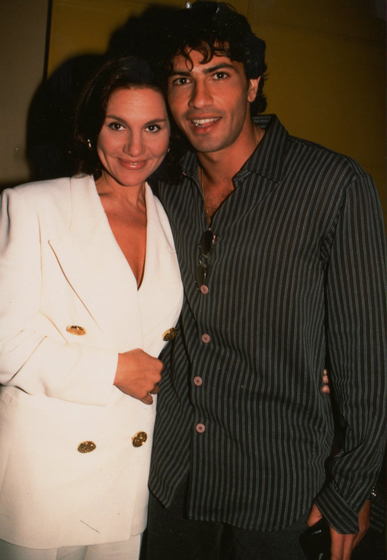 Stefania Cuneo con Lorenzo Crespi