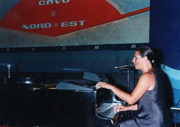 Stefania Cuneo al pianoforte, al Covo di Nord Est a Santa Margherita Ligure