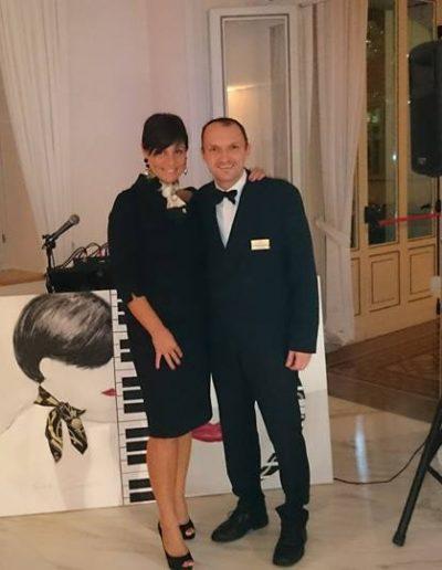Musica dal vivo in grand hotel | Stefania Cuneo