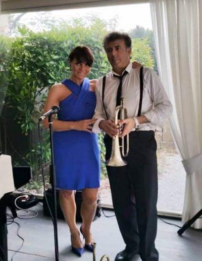 Stefania Cuneo con Marco Brioschi